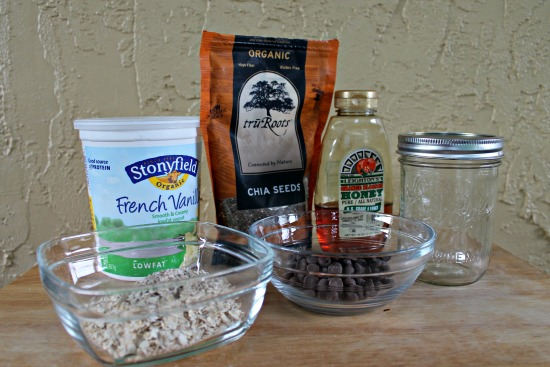 Ingredients for Chia Porridge
