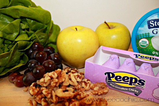 Peeps Waldorf Salad Ingredients