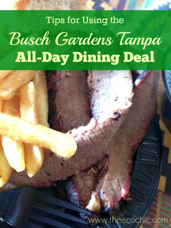 Tips for Using the Busch Gardens All-Day Dining Deal