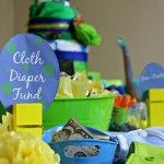Cloth Diaper Baby Shower Decorations