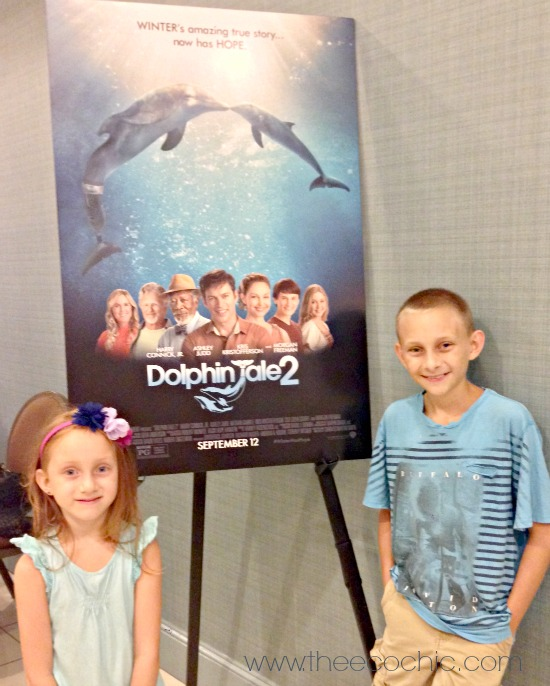 Dolphin Tale 2 Screening