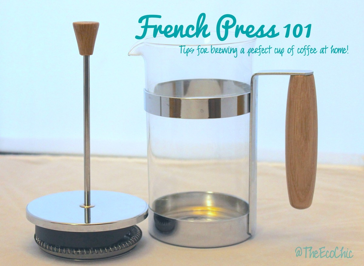 French Press 101 - How to brew a perfect cup of coffee at home!