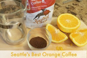 Seattles Best Orange Coffee