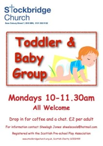 stockbridge toddler and baby group