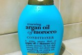 Renewing argan oil of morocco is a shampoo to help de-frizz.