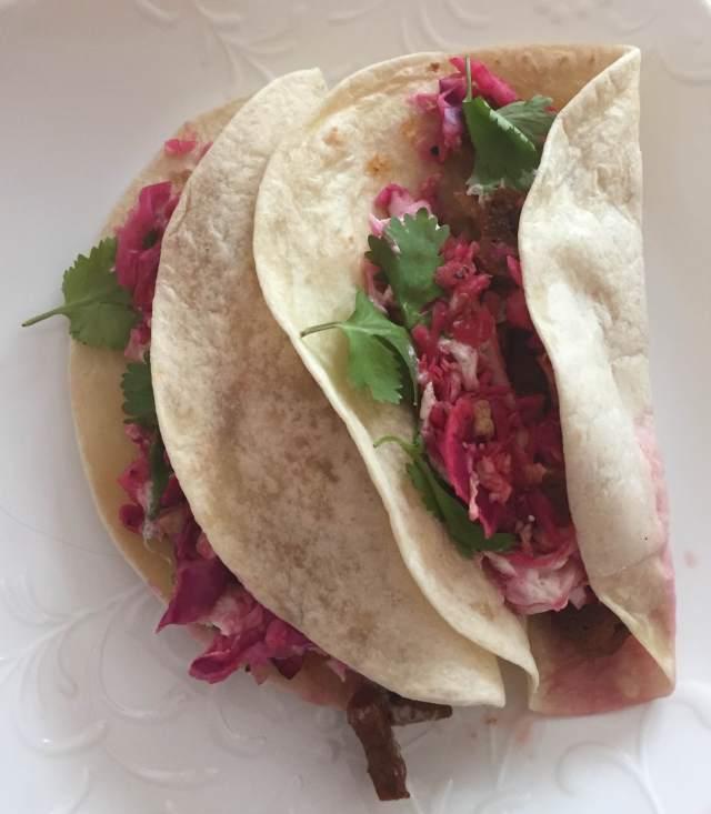 Chipotle Seitan Tacos - $7.00