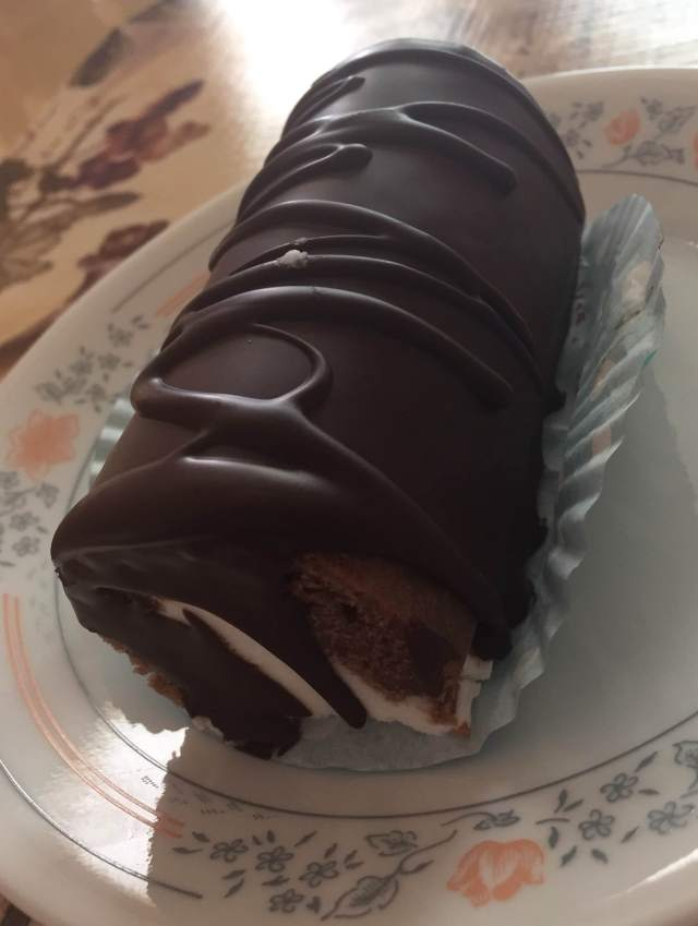 Chocolate Swiss Roll - $3.75