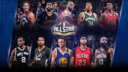 The All-Star Game roster, jam-packed with star power.