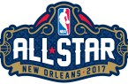 Official logo of the 2017 All-star game in New Orleans.
