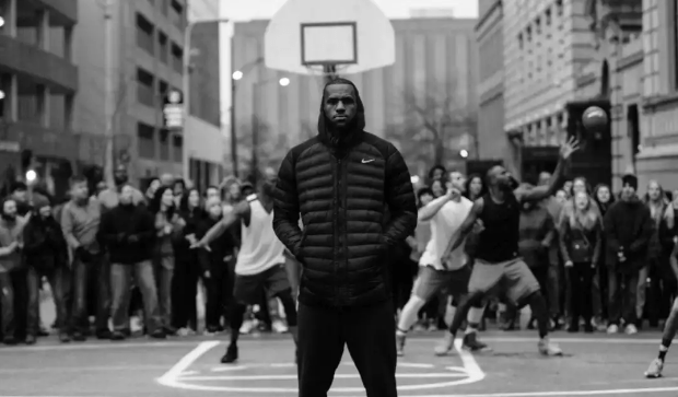 LeBron James stands up for equality.  Photo Credit: www.adweek.com
