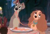 Caption: This picture depicts a date night created by the Tramp with whatever he had at the moment. Photo Credit: Disney