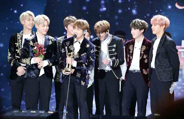 Caption: BTS, a K-Pop group with a multitude of US fans, performed for the first time in the American Music Awards in 2017.  Photo Credit: Ajeong JM, via Wikimedia Commons
