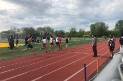 Thomas Edison's Outdoor Track Team is preparing to compete against other high schools in Queens in the Queens Boys Borough Championships at Springfield Gardens HS Field. Credit: Rayan Brijlall