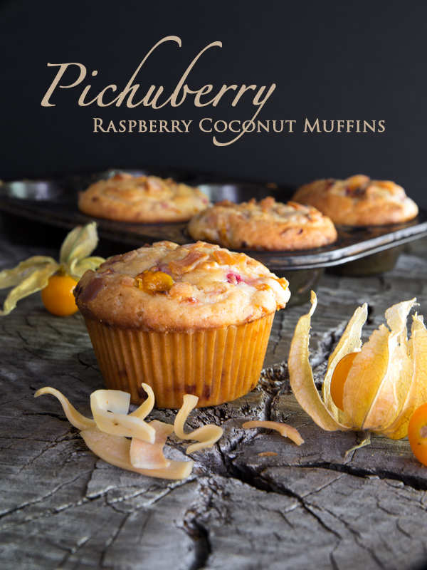 Pichuberry Raspberry Coconut Muffins at The Egg Farm