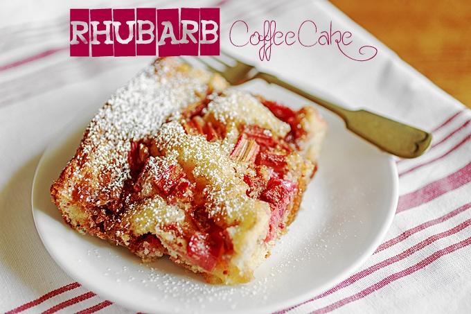 Royal Rhubarb Coffee Cake Recipe
