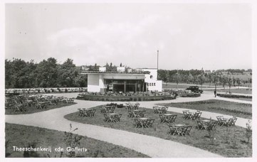 Theehuis de Goffert in volle glorie 1939