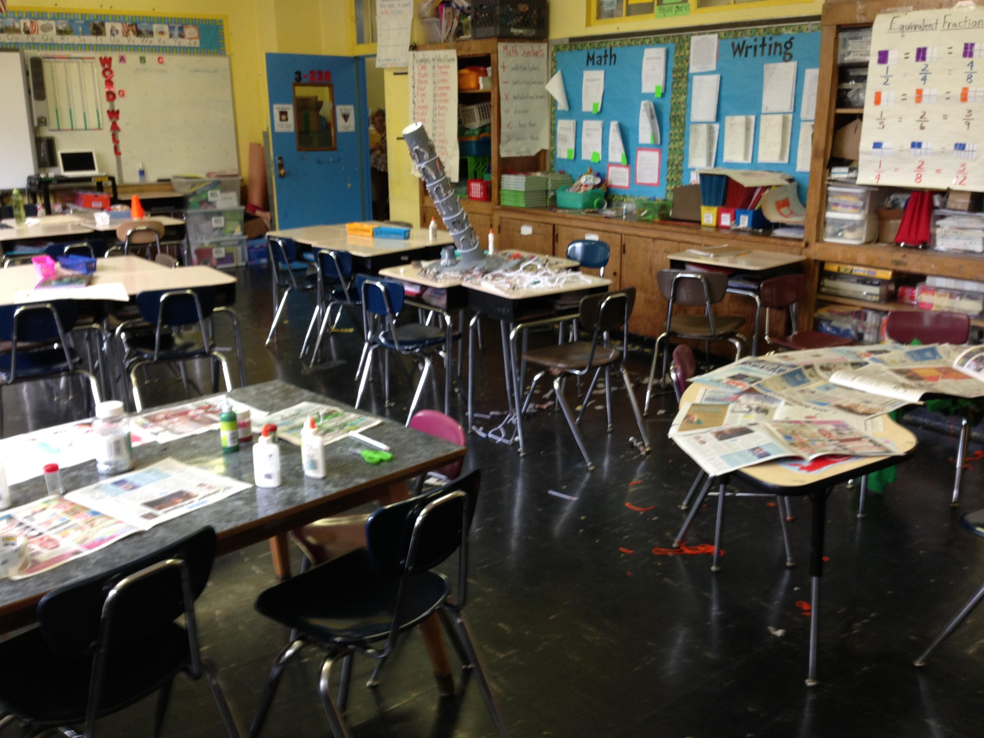 hot mess classroom