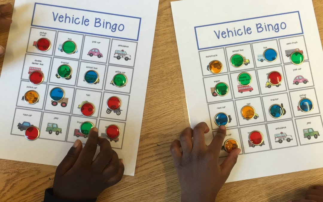 Vehicle Bingo