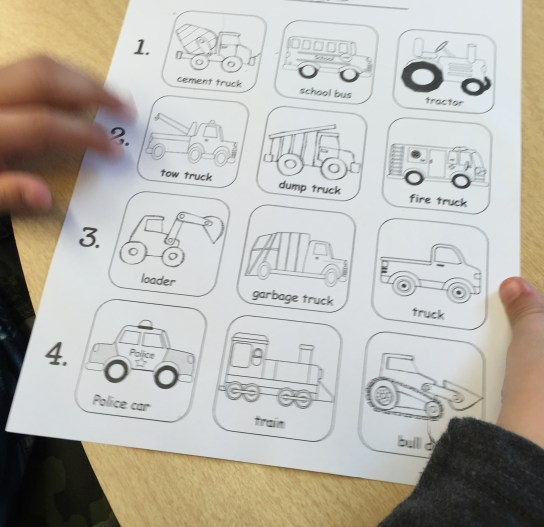 Vehicle Identification Blank Board - Copy