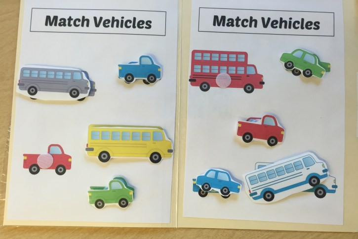 File Folder Vehicle Match