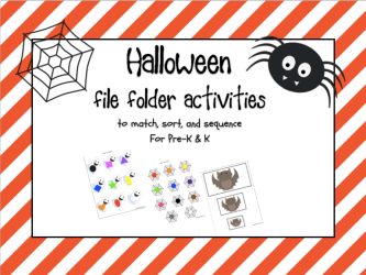 Halloween File Folder Freebies!