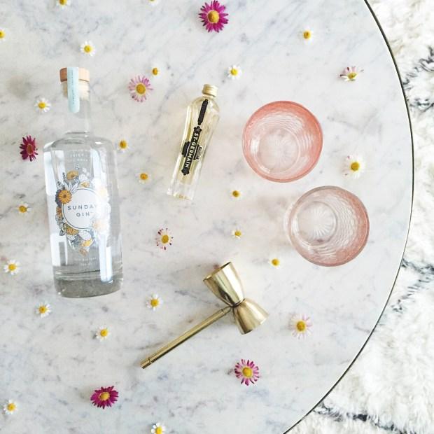 Elderflower Gin Fizz | The ELL Blog