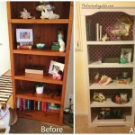 Update an Old Bookcase for $15