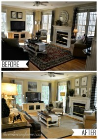 before and after family room makeovers | My Web Value