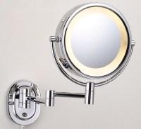Lighted Makeup Mirror Wall Mount | Home Design Ideas