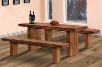 Dining Table With Bench Seating | Home Design Ideas