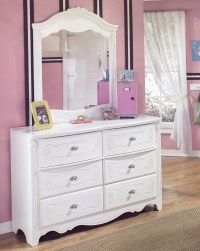 White Dresser With Mirrored Drawers | Home Design Ideas
