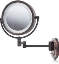 Lighted Makeup Mirror Wall Mount Reviews | Home Design Ideas