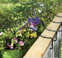 Deck Railing Planter Holder | Home Design Ideas