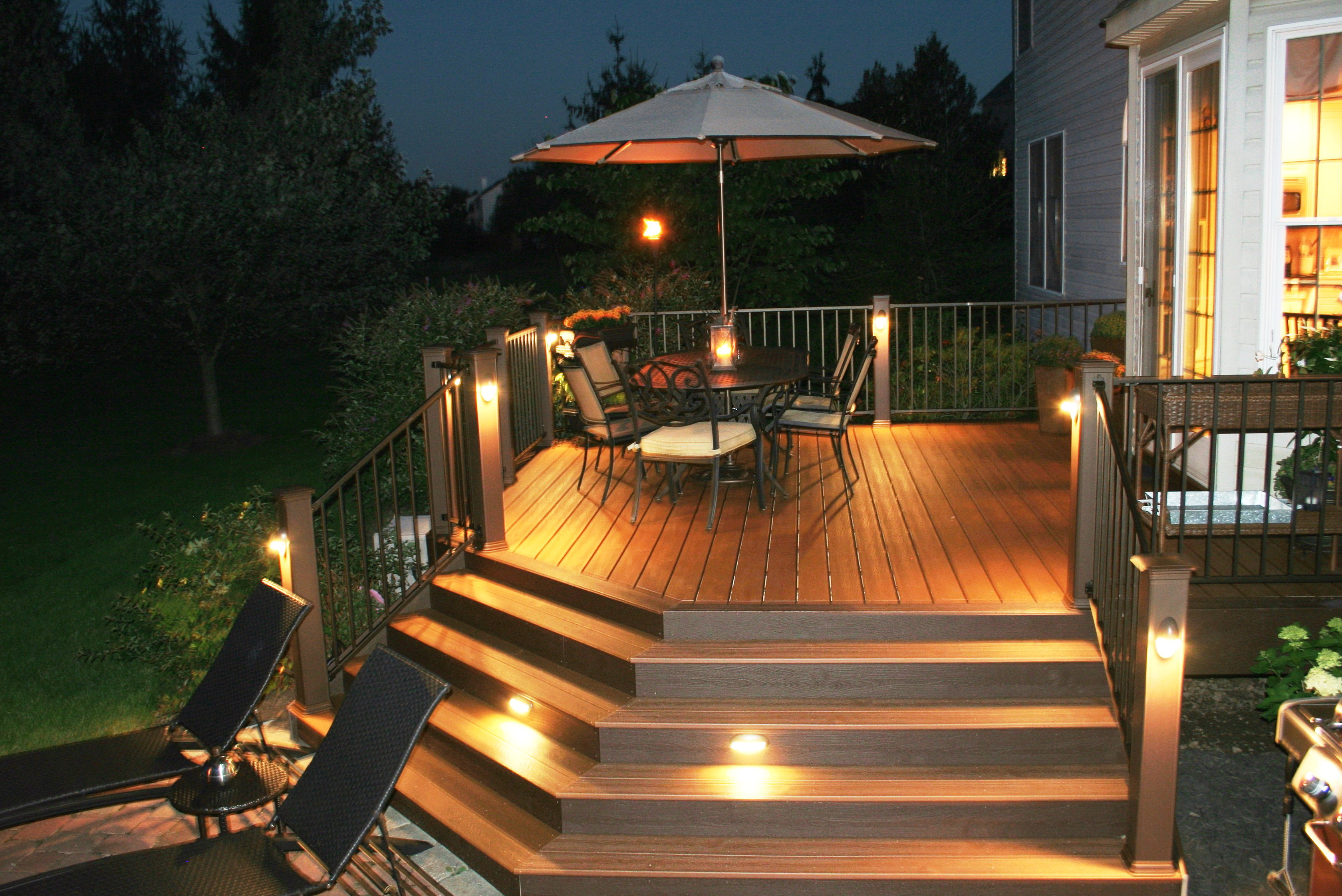 Lowes deck lighting democraciaejustica low aloadofball Image collections