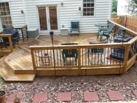 Ground Level Deck Designs   Home Design Ideas