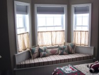 Small Bay Window Curtain Ideas | Home Design Ideas