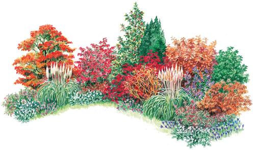 How To Plant An Autumn Border - The English Garden