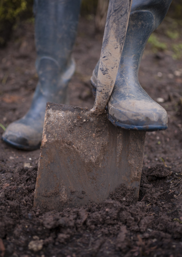 Should you dig over your soil or not the english garden for Soil in english