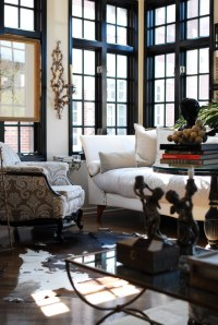 Black window frames are so chic | The English Room