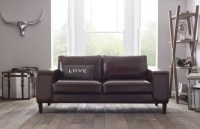 Wellington Contemporary Leather Sofa | Leather Sofas