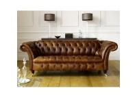 The Barrington Vintage Leather Chesterfield Sofa