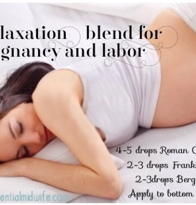 Relaxation Blend for Pregnancy and Labor