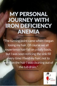 my personal journey with iron deficiency anemia