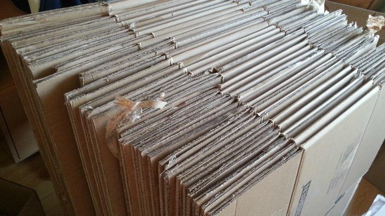 stacked moving boxes, wonderful Wednesday