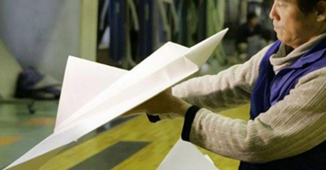 World Record for Paper Plane Flight