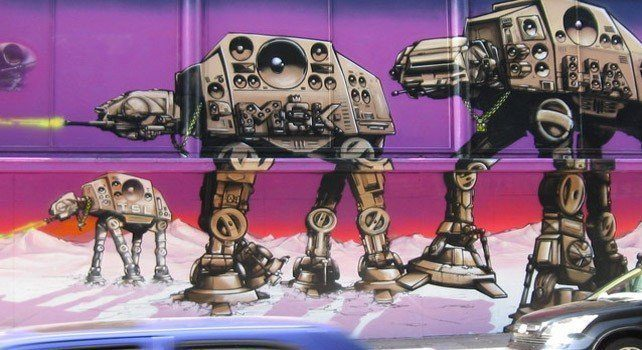 Star Wars Grafitti