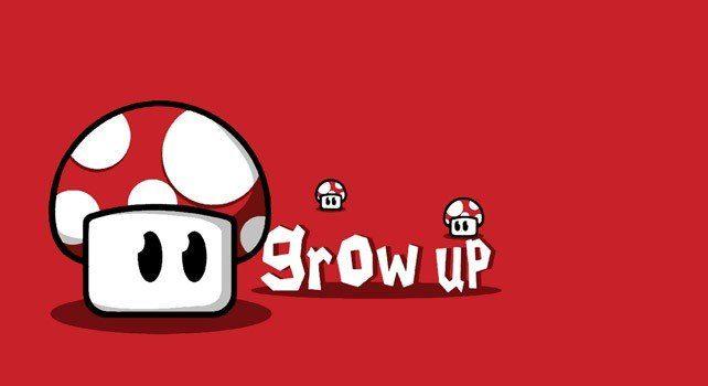 Mario Mushroom - Grow Up