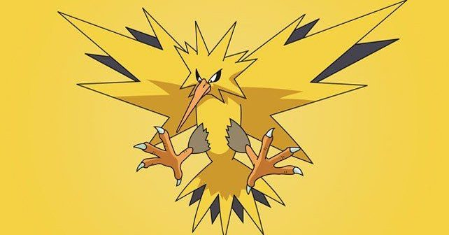 Zapdos Facts