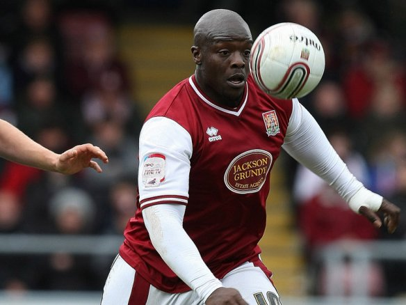 Adebayo Akinfenwa: The strikers rates Branston as a tough opponent
