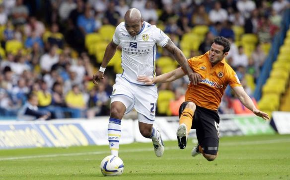 Fighting for the cause: El-Hadji Diouf has done well at Leeds so far